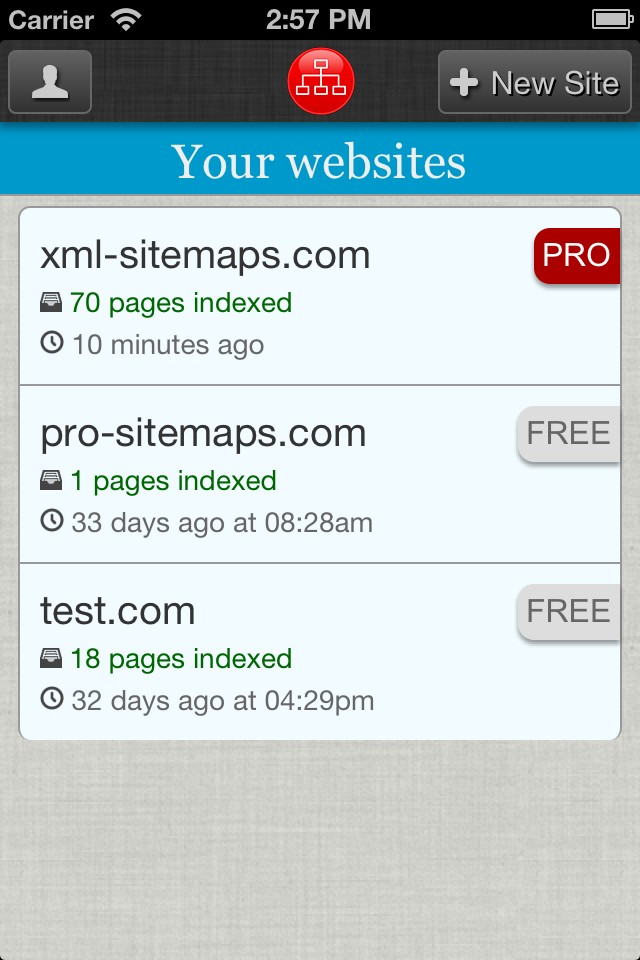 pro sitemaps mobile app mobile app for ios and android pro